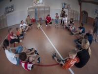 Trening Szkółki Piłkarskiej z rodzicami we Wrocławiu