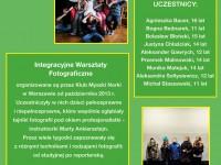Prace z Warsztatów Fotograficznych, Warszawa