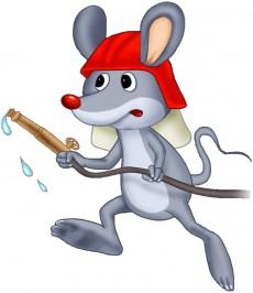 myszka strazak