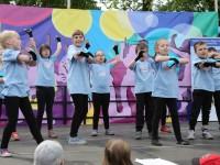 Występy Norka'Dance na Dniu Małego Strażaka